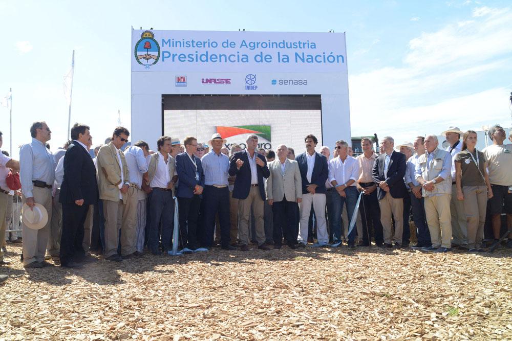 ricardo buryaile ministrerio de agroindustria bioindustria expoagro 2017