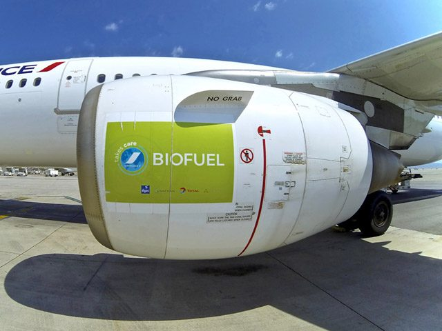 air france biofuel biojet