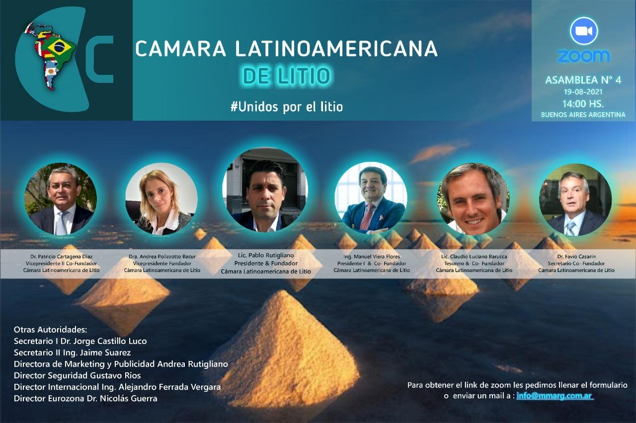 camara latinoamericana del litio